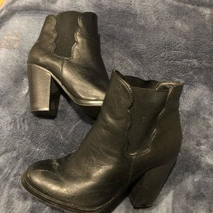 Betsey Johnson heeled booties ankle boots